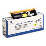 Okidata Toner Cartridge for Konica Minolta Magicolor 2400, 2430, Yellow