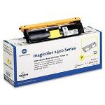 Okidata High Yield Toner Cartridge for Konica Minolta Magicolor 2400, 2430, Yellow