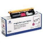 Okidata High Yield Toner Cartridge for Konica Minolta Magicolor 2400, 2430, Magenta
