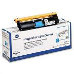 Okidata High Yield Toner Cartridge for Konica Minolta Magicolor 2400, 2430, Cyan