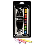 Quartet Omega® Nontoxic Low Dust Chalk, Assorted Colors