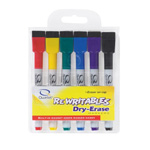 "Quartet Dry-Erase Markers with Magnet, 10-2/5""x6-10/13""x8-9/11"""