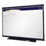 Quartet® Project Planner, 48 x 36, Graphite Finish Frame