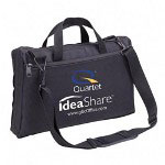 Quartet Portable IdeaShare Carrying Case, Nylon, Black