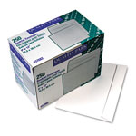 Rogers White Gummed Booklet Envelopes, 9 x 12, 250/Box