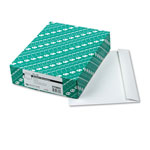 Quality Park White Gummed Booklet Envelopes, 9 x 12, 100/Box