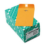 Quality Park Clasp Envelopes, Kraft, 28 lb., 4 x 6 3/8, 100/Box