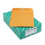 Quality Park Clasp Envelopes, Kraft, 28 lb., 10 x 12, 100/Box