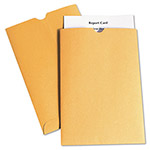 Quality Park Kraft Report Card Jacket, 28 lb., Thumb Cut