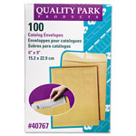 "Quality Park Catalog Envelope, Plain, 28Lb, 6""x9"", 100/BX, Kraft"