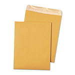 "Quality Park Recycled Envelopes, Gum Seal, 9"" x 12"", 500/CT, Brown Kraft"