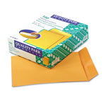 Quality Park Heavyweight Catalog Envelopes, Gummed, Kraft, 28 lb., 9 x 12, 100/Box