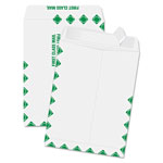 "Quality Park Redi-Strip Envelopes, First Class, 9"" x 12"", 100/BX, White"