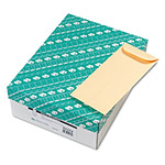 Quality Park Policy Envelopes, Gummed, Cameo Buff, 28 lb., 4 1/2 x 10 3/8, 500/Box