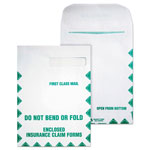 Quality Park First Class Window Envelopes for Form HCFA 1500, 9x12 1/2, 100/Box