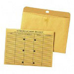 Quality Park Open Side Inter Department Kraft Envelopes, Redi Tac™ Closure, 9 x 12, 100/Box