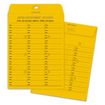 Quality Park Interoffice Envelopes, Box Style Kraft Redi Tac™, Printed 2 Sides, 10x13, 100/Bx
