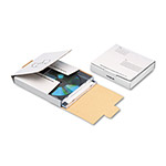 Quality Park Corrugated CD/DVD Mailer, 5 3/4w x 5 3/4d, White