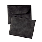 Quality Park Document Carrier, Letter, Two Inch Expansion, Black, 1/ea