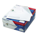 Westvaco Poly-Klear Single Window Envelopes, #10, White, 500/Box