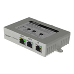 Cyberdata 2-Port PoE Gigabit Switch - Switch - 2 Ports - Desktop