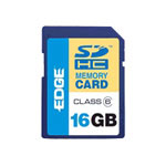 Edge ProShot Flash Memory Card - 16 GB - SDHC