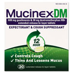 Mucinex DM Expectorant and Cough Suppressant