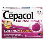 Reckitt Benckiser Cepacol Sore Throat and Cough Lozenges, Mixed Berry
