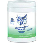 Lysol Disinfecting Wipes, 1 Container of 160