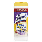 Lysol Dual Action Disinfecting Wipes, Citrus