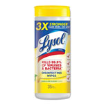 Reckitt Benckiser Lemon/Lime Blossom Disinfecting Wipes w/Micro-Lock, 7 x 8, 35/Canister, 12/Ctn