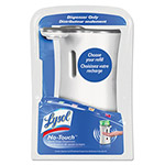Lysol No-Touch Hand Soap Dispenser, 8.5oz, Plastic, White
