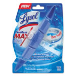 Lysol No Mess Max Automatic Toilet Bowl Cleaner, Ocean Fresh, 1.41 oz Block, 6/Carton