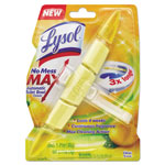 Lysol No Mess Max Automatic Toilet Bowl Cleaner, Citrus, 1.41 oz Block, 6/Carton