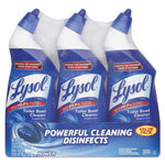 Lysol Disinfectant Toilet Bowl Cleaner, Wintergreen Scent, 24 oz Bottle, 3/Pack