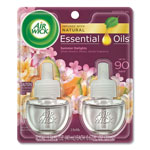 Air Wick Scented Oil Warmer Refill, 2/.67oz., Summer Delight