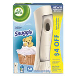 Air Wick Freshmatic Ultra Automatic Starter Kit, Snuggle Fresh Linen,6.17oz Aerosl,4/Crtn
