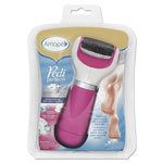 Amope Pedi Perfect Extra Coarse Electronic Foot File, Pink/White