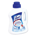Lysol Laundry Sanitizer, Liquid, Crisp Linen, 90 oz, 4/Carton