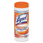 Lysol Kitchen pro Antibacterial Wipes, 30 Wipes