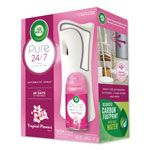 Air Wick Freshmatic Ultra Auto Pure Starter Kit, Trop. Flowers, White,3.3x3.53x7.76, 4/CT