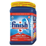 Finish® Powerball Max in 1 Dishwasher Tabs, Regular Scent, 88 Tablets/PK, 2 Packs/Carton