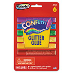 The Board Dudes Confetti Glitter Glue Sticks, Assorted