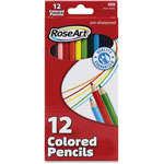 The Board Dudes Colored Pencil Packs, Pre-Sharpened, 12/PK, Assorted