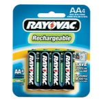 Rayovac NiMH Rechargeable AA Batteries