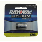 Rayovac CR2 Battery, 3.0 Volt