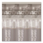 Rayovac High Energy Premium Alkaline Battery, D, 4/Pack