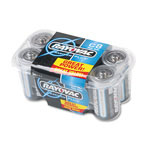Rayovac Maximum Plus Alkaline Batteries, C, 8/Pack