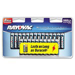 Rayovac Alkaline Batteries, AAA, 24/Pack