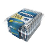Rayovac Alkaline Battery, AAA, 48/Pack